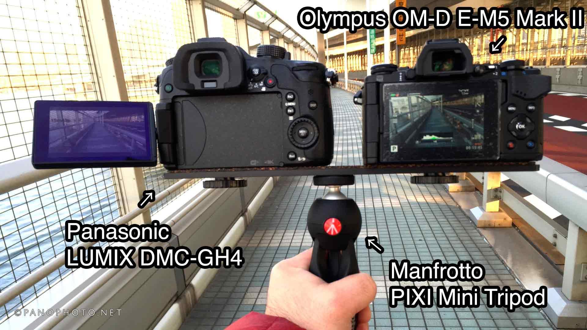 Panasonic-LUMIX-GH4-vs-Olympus-OM-D-E-M5-MK-II-handheld