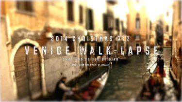 Venice Walk-lapse | Shot on Panasonic LUMIX LX100